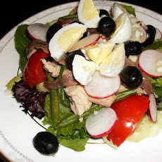 Low Carbohydrate Salad Nicoise