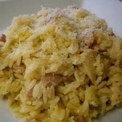 Chicken, Bacon And Leek Risotto