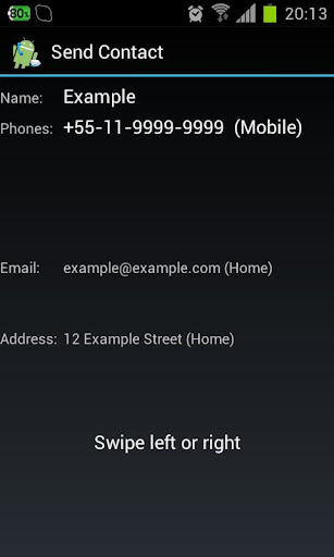 SendContact