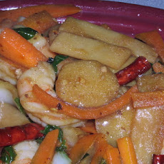 Shrimp With Hot Sauce, Szechuan Style