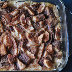 Cinnamon Toast Breakfast Pudding