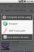 Screenshot of SWF Transcoder