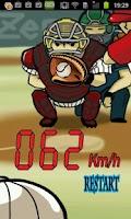 Screenshot of Virtual Speed Gun