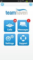 Screenshot of TeamHaven Mobile