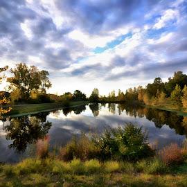 Fox hill park by Fred Bono - Landscapes Prairies, Meadows & Fields