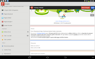 Screenshot of Tutto App Android - Notizie
