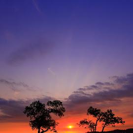 side by side by Zenith Halalan - Landscapes Sunsets & Sunrises ( nature, sunset, landscape, people )
