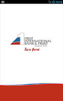Screenshot of First Intl. Bank & Trust