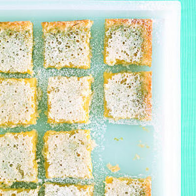 Coconut Lime-Curd Bars