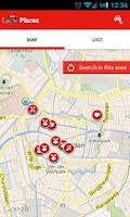 Screenshot of Leiden Mobile