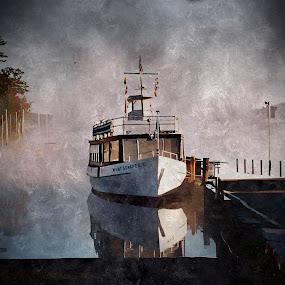 M.V.Mt.Sunapee. Sunapee Harbor, Sunapee, N.H. by Diane Merz - Transportation Boats (  )