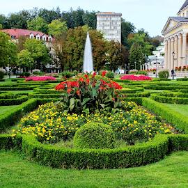 Rogaška Slatina 2 - Slovenia by Jerko Čačić - City,  Street & Park  City Parks