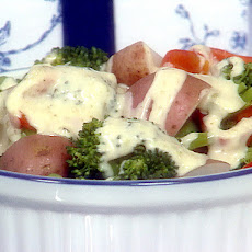 Vegetables with Broccoli Lemon Sauce