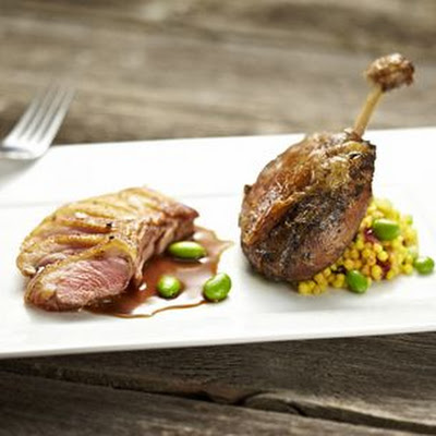 Duck Breasts and Confit of Duck Legs