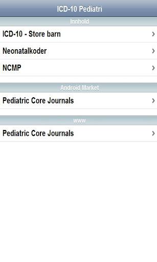 ICD-10 Pediatri