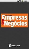 Screenshot of Pequenas Empresas