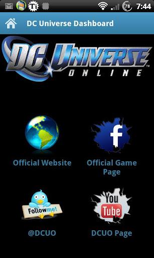 DC Universe Dashboard
