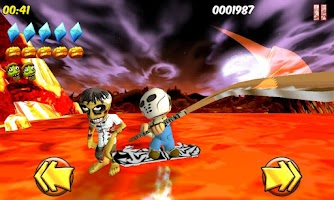 Screenshot of Thump The Zombie (Brave Boy)
