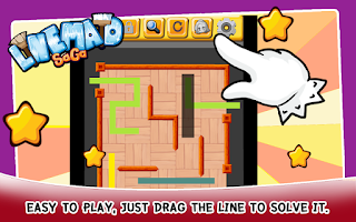 Screenshot of Maid Saga - Line Puzzle