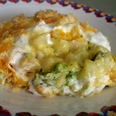 Broccoli Hash Brown Casserole