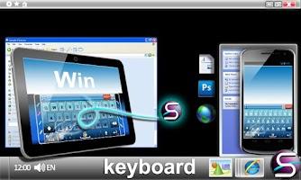 Screenshot of SlideIT Windows 7 Skin