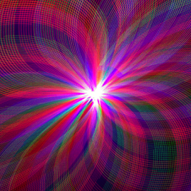 Plume of light by Jim Barton - Abstract Patterns ( laser light, plume of light, colorful, light design, laser design, laser, laser light show, light, science, mood factory, vibrant, happiness, January, moods, emotions, inspiration )