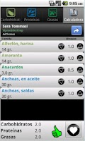 Screenshot of Cálculo Zona - Dieta Zona