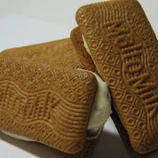 Ice Cream Biscuit Sandwiches