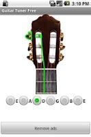 Screenshot of Guitar Tuner