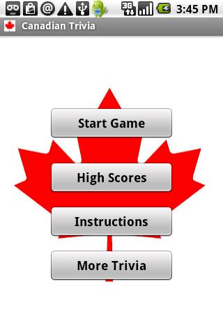 Canada Trivia
