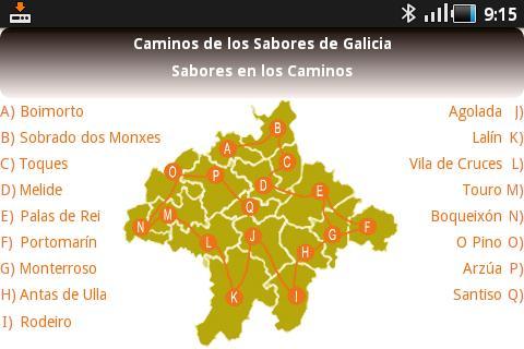 免費旅遊App|Caminos de los Sabores Galicia|阿達玩APP