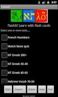 Screenshot of FlashIt