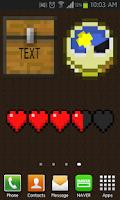 Screenshot of Minecraft Widgets