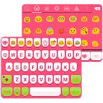 Cute Pink Love Emoji Keyboard 1.6.7 Apk