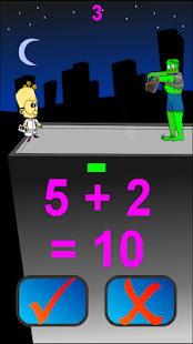 Math vs Zombie - screenshot