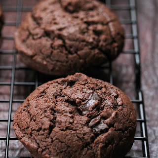 Gluten Free Double Chocolate Chunk Cookies