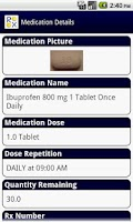 Screenshot of RX Pal Family Pill Reminder