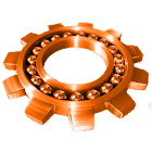 Basic Orange for CM7 icon