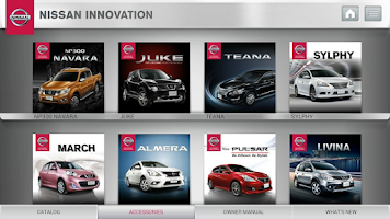 Screenshot of Nissan Innovation