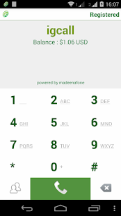 igcall - screenshot