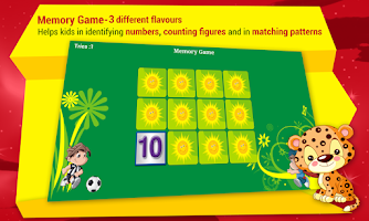 Screenshot of Kids Learn Numbers Train Free