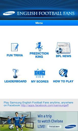 Samsung English Football Fans
