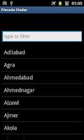 Screenshot of Pincode Finder