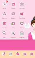 Screenshot of Sweetgirl icon theme