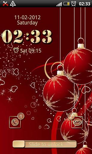 Christmas GO Locker theme