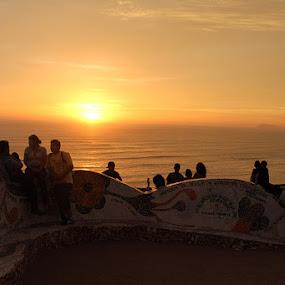 Lima, Pirou by Jonguy Demontigny - Landscapes Sunsets & Sunrises