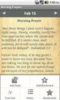 Screenshot of Morning Prayers Devotional