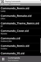 Screenshot of SID Player