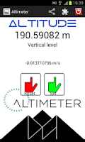 Screenshot of Altimeter