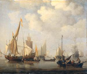 RIJKS: Willem van de Velde (II): painting 1707